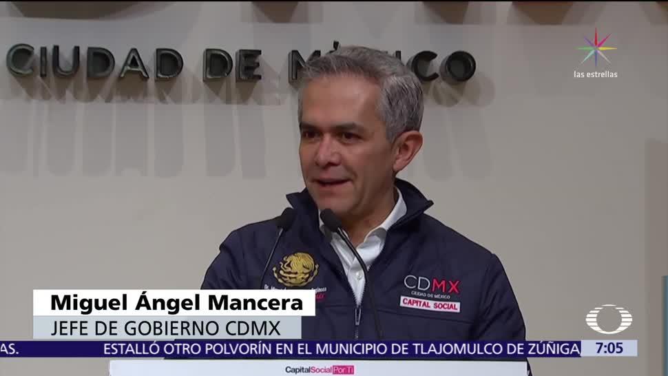 Mancera responde a Meade sobre futuro del Frente Ciudadano por México
