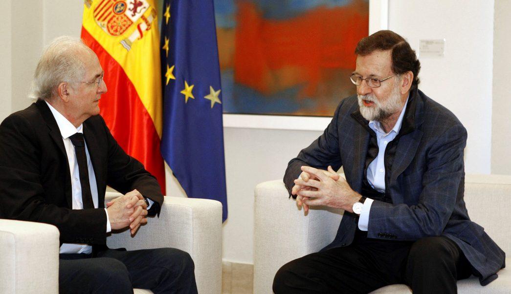 Venezuela tilda de 'acto inamistoso' de España la reunión Rajoy y Ledezma