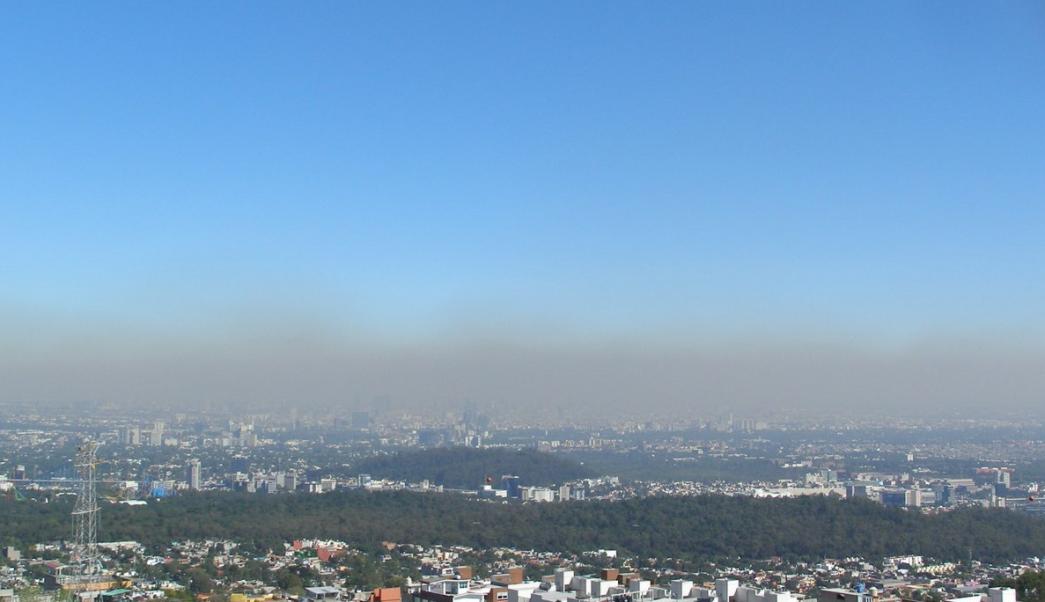 Se registran dos inversiones térmicas en la Ciudad de México
