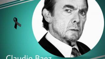 muere actor claudio baez 69 anos