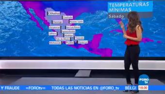 Clima Noticias Ana Karina Sáenz Bajas Temperaturas