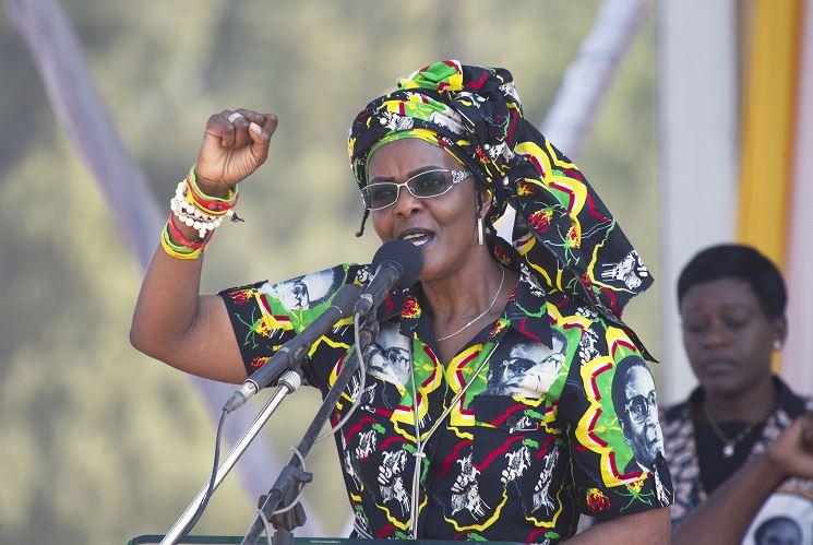 Primera dama de Zimbabue huye a Namibia en medio de crisis