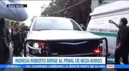 Ingresa Roberto Borge Penal Neza-Bordo