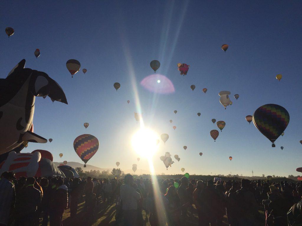 Inicia el Festival Internacional del Globo en León, Guanajuato