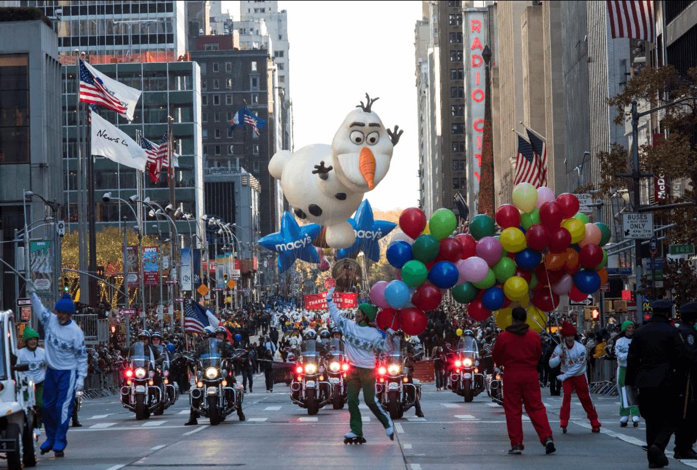Nueva York celebra el desfile de Acción de Gracias