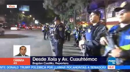 Operativo Policiaco Contra Crimen Sur Cdmx