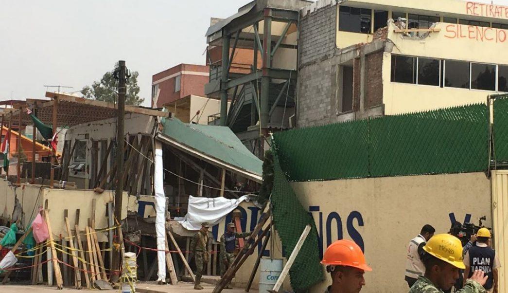 Colegio Rébsamen afectado por el sismo en la Ciudad de México (Notimex/Archivo)