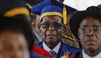 presidente zimbabue aparece publicamente control militar
