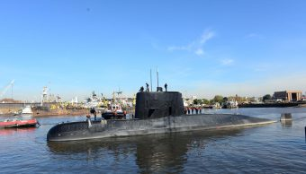 Argentina analiza si ruidos mar son submarino perdido