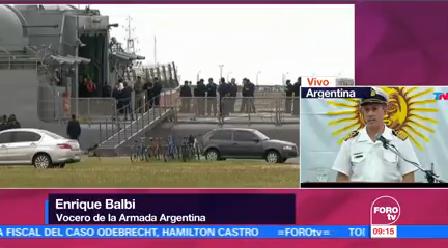 Suman 10 Días Búsqueda Submarino Desaparecido Argentina