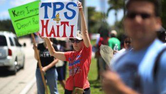 Gobierno Donald Trump acaba TPS Haití