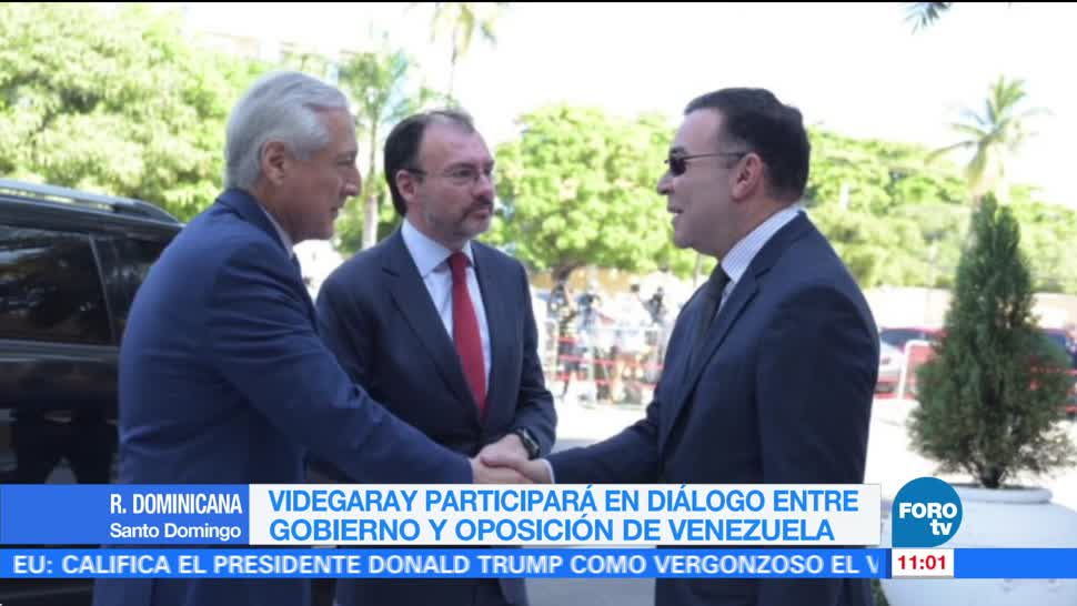 Videgaray participará en diálogo entre gobierno y oposición de Venezuela