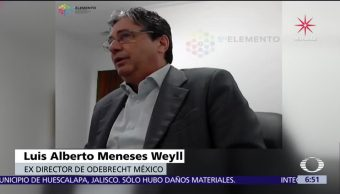 Se difunde video con testimonio del exdirector de Odebrecht México
