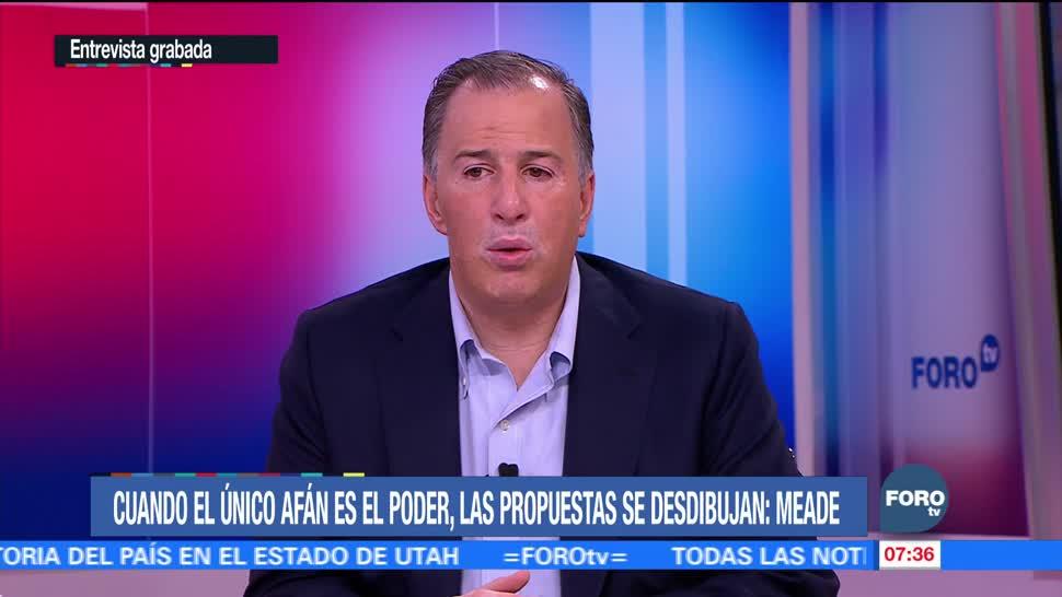 Meade: México será grande en la medida que esté unido