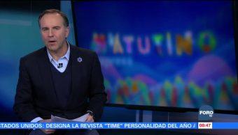 Matutino Express del 6 de diciembre con Esteban Arce (Bloque 1)