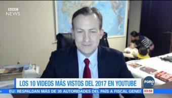 YouTube da a conocer los videos más vistos de 2017