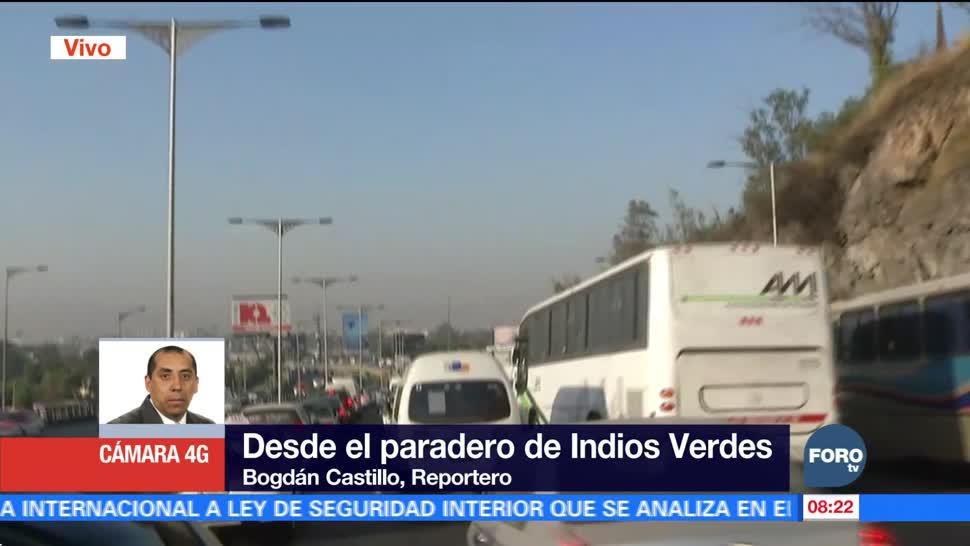 Amanece el Valle de México con mala calidad del aire