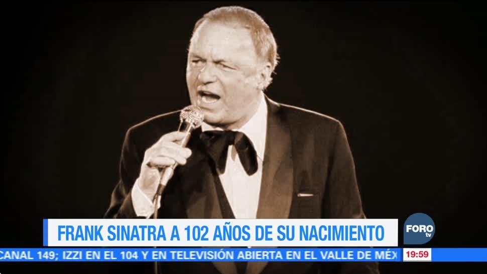 Efeméride En Una Hora: Frank Sinatra