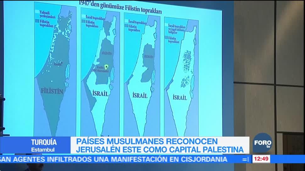 Países musulmanes declaran a Jerusalén del Este capital palestina