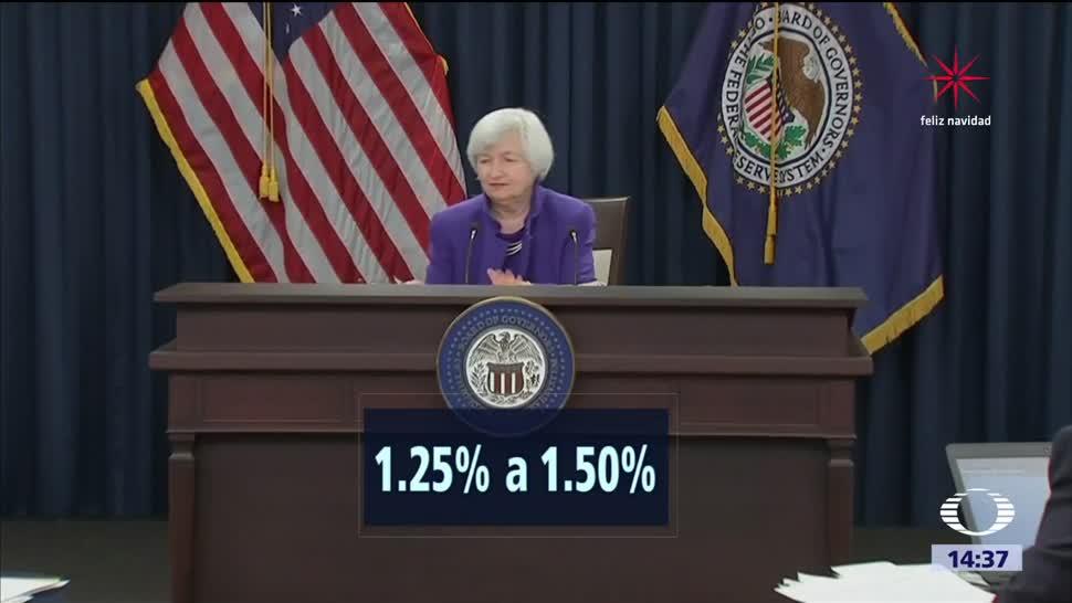 Reserva Federal eleva tasa de interés