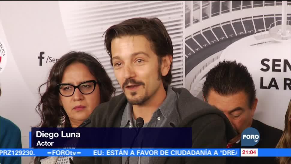 Diego Luna pide amplio debate sobre la Ley de Seguridad Interior