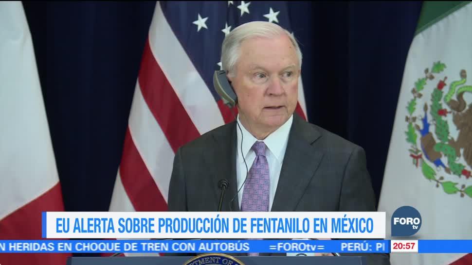 EU alerta sobre producción de fentanilo en México