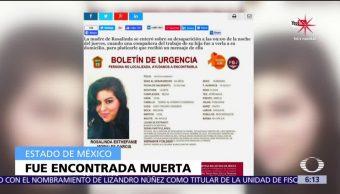 Localizan cadáver de joven desaparecida en Metepec