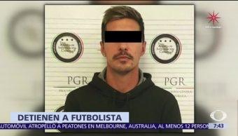 Detienen en Puebla al futbolista Jonathan Fabbro, acusado de violar a niña