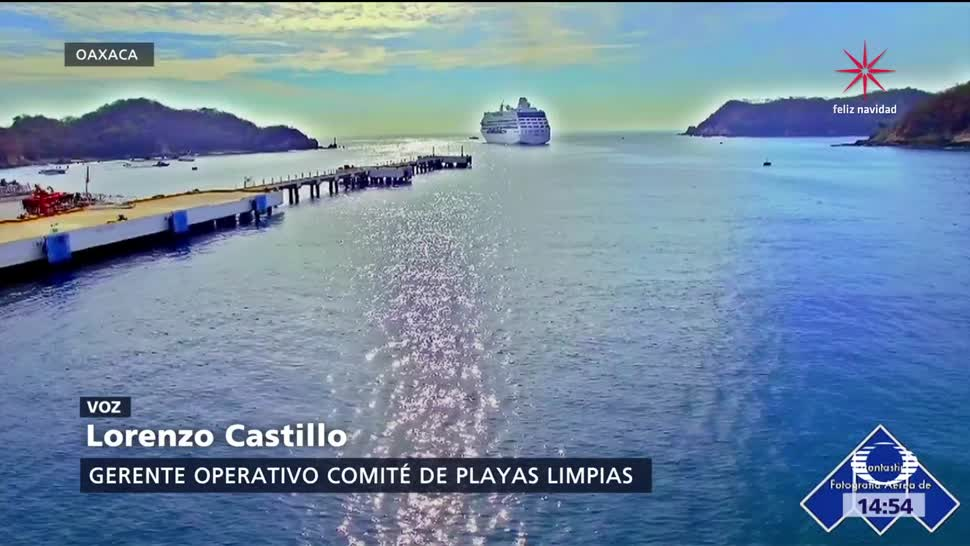 Playas de México, listas para vacaciones de fin de año