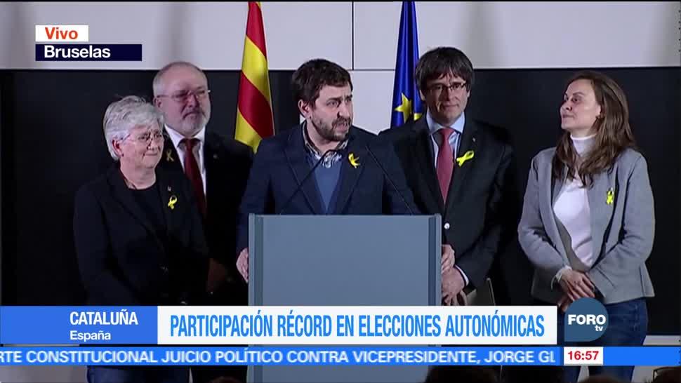 Independentistas repiten mayoría absoluta en Cataluña
