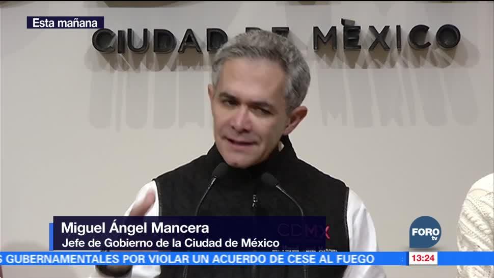 Vigilaremos estrictamente uso del fondo para reconstrucción, dice Mancera