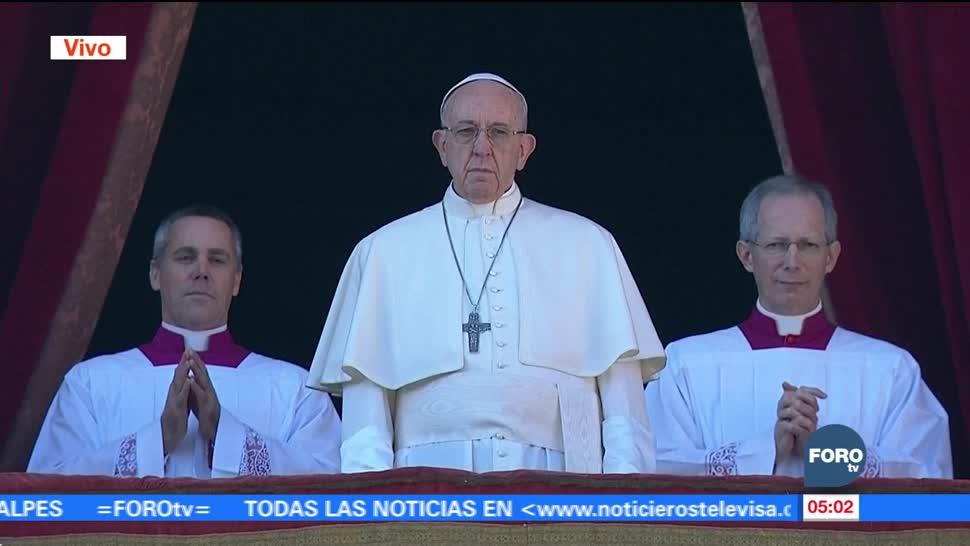 Papa Francisco ofrece mensaje con motivo de la Navidad