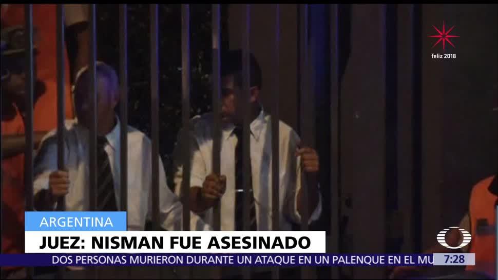 Juez argentino determina muerte del fiscal Alberto Nisman como asesinato