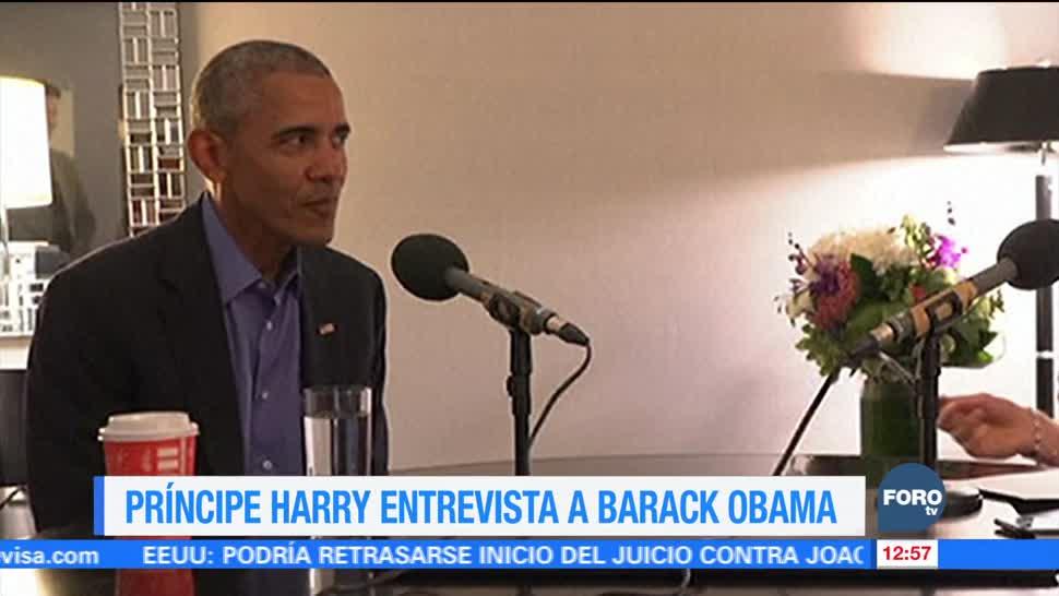 BBC difunde entrevista de radio que el príncipe Enrique hizo a Obama