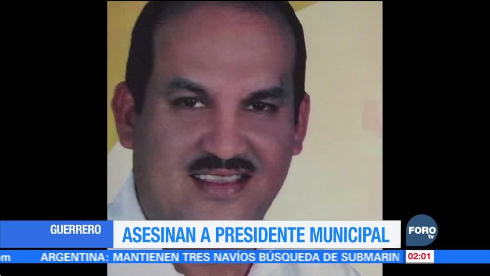 Matan al alcalde de Petatlán, Guerrero