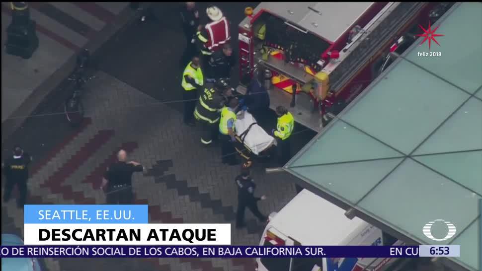 Emergencia médica causó atropellamiento masivo en Seattle