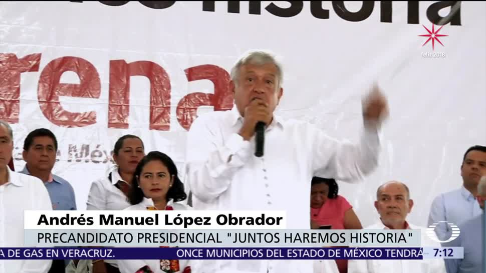 López Obrador afirma que la corrupción causa la violencia en México
