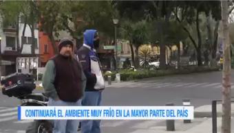 Bajas Temperaturas Mantendrán Gran Parte México Smn