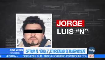 Capturan Aguila 7 Ciudad Victoria Tamaulipas
