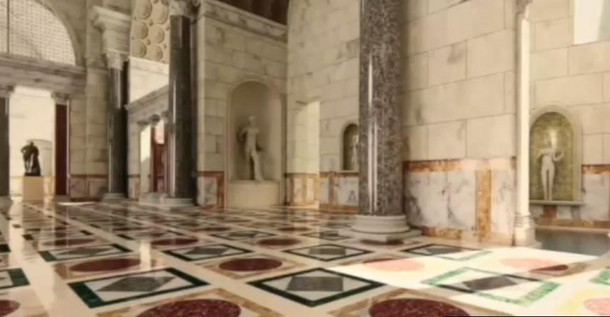 Utilizan realidad virtual para exhibir las Termas de Caracalla