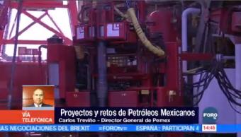 Carlos Treviño Pemex Revierte Caída Producción Petrolera