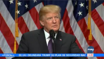 Donald Trump Anuncia Estrategia Seguridad Nacional