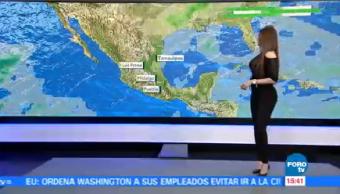 Clima A Las Tres Mayte Carranco Frente Frío