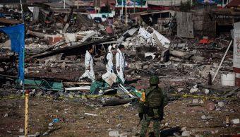 Un año explosión mercado cohetes Tultepec