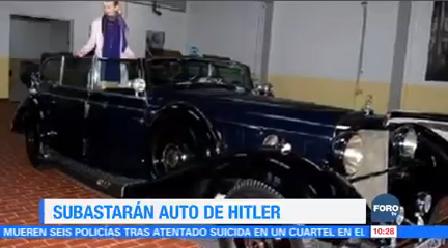 Extra Subastarán Auto Hitler Descapotable