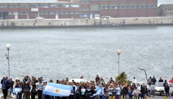 Familiares de los 44 ocupantes del submarino ARA San Juan