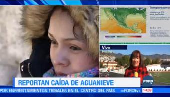 Hidalgo Registra Temperatura Menos Siete Grados