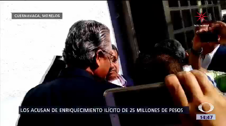 Imputan Exrector Universidad Autónoma Morelos