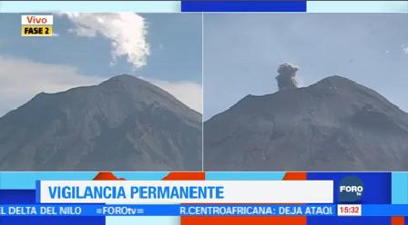 Intensa Actividad Volcán Popocatépetl Últimas Horas