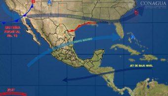 Nuevo frente frío mantendrá bajas temperaturas en la mayor parte de México